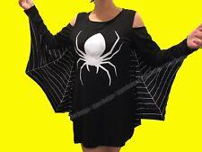 Spiderweb Plus Size Jersey Dress Spider Halloween Costume XL XXL 2XL XXXL 3XL