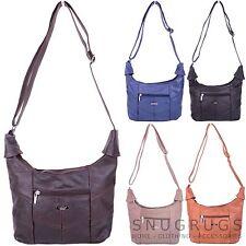 Ladies / Womens Genuine Leather Shoulder / Cross Body / Hand Bag