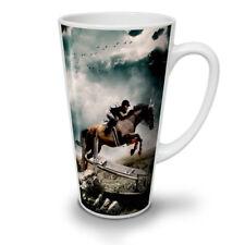 Foto SPORT Cavallo Animale Nuovo White Tea Tazza Da Caffè Latte Macchiato 12 17 OZ (ca. 481.93 g) | wellcoda