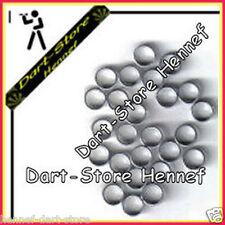 Anzahl wählbar - Dart Shaft Ringe Federringe, silber