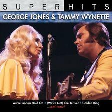 Super Hits by George Jones & Tammy Wynette (CD, Apr-2007, Sony Music)