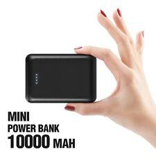Power Bank 10000mAh Mini Batería Externa para Móvil iPhone Samsung HUAWEI