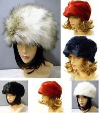 Cossack Kossak Russian Style Warm Faux Fur Hat Bucket Style New Winter