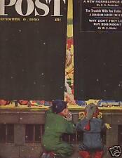 1950 Saturday Evening Post December 9-Hard Hat Diving