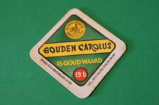 Vintage Beer Brewing Coaster ~ GOUDEN CAROLUS D'Or, Het Anker Brewery, Mechelen
