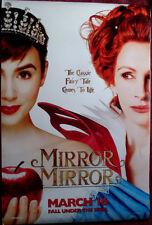 Cinema Poster: MIRROR MIRROR 2012 (Advance One Sheet) Lily Collins Julia Roberts