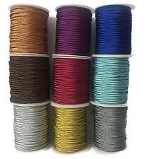 Metallic Soutache Braid, Metallic Cord, Glossy- 3mm wide (2F)