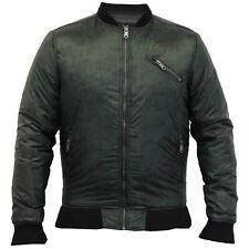 mens MA1 jacket Threadbare camouflage coat harrington padded military winter new