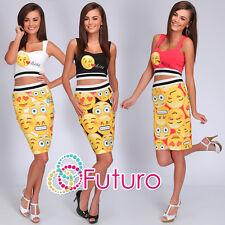 Party 2 Piece Set Short Top + Pencil Skirt Clubwear Dress Sizes 8-14 FC1331