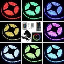 Set 5-25m RGB LED Streifen Strip e Leiste Band + Controller + Netzteil Treiber