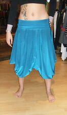 Baylis & Knight Cobalt Blue Hareem Harem Pants FESTIVAL DRAPE Pantaloni MC Hammer