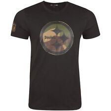New Era Shirt - NFL Pittsburgh Steelers black / wood camo