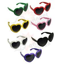 Heart Shaped SUNGLASSES fashion Shades Sunnies Shape Retro costume glasses new