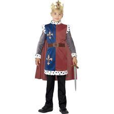 Mittelalter Prinz Kostüm Kinderkostüm König Arthur mit Krone Ritter Märchenprinz