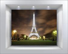 Stickers muraux autocollant déco : Tour Eiffel - réf 2018 (13 dimensions)
