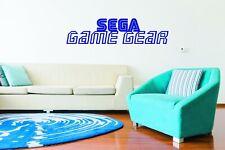 Sega Game Gear Wall Art Logo Sticker Decal