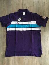 Adidas señores real madrid co Polo Shirt, w61883, nuevo con etiqueta
