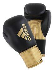 Adidas Boxe Entraînement Sac gants noir doré 8oz 283 gr 12oz 14oz 16 oz