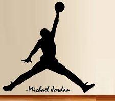 Basketball Jump Man ~ Wall or Window Decal
