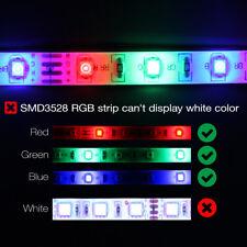 2Pcs/5Pcs/10Pcs RGB 5M 300Leds Color Change 3528 Flexible LED Strip Light 12V