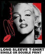 BEAUTIFUL SEXY ICONIC SUPER MOVIE STAR MARILYN MONROE CELEBRITY ART T-SHIRT XT99