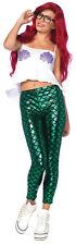 Mermaid Hipster Adult Women's Costume Lame Fin Leggings Fancy Dress Leg Avenue