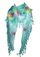 GLITTER Unicorno Stampa Sciarpa ARGENTO GLITTER Morbido Bellissimo Fashion Sciarpe Wrap