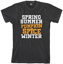 Threadrock Men's Spring Summer Pumpkin Spice Winter T-shirt Fall