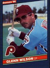 1986 Donruss Baseball Base Singles #285-559 (Pick Your Cards)