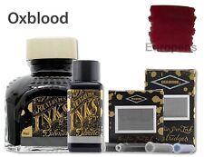 Diamine OXBLOOD RED - Bottled Ink 30ml, 80ml / Ink Cartridges - 6 Pk, 18 Pk