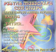 PISTAS MUSICALES CON GRUPO/EXITOS DE TATIAN  CD