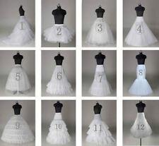 2018 Neu Petticoat Unterrock Kleid Unterkleid Reifrock Ringe Brautkleid Weiß
