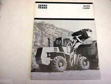 Case W24B Rubber Tired Wheel Loader Brochure