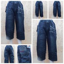 Jungen Kinder Bermuda Shorts Capri Strech Jeans Shorts Freizeit Hose 19d000e776