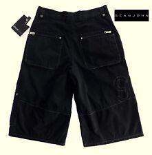 NWT SEAN JOHN Boys Pale Black Cargo Shorts(Size 10, 12, 14) MSRP$39.00 NEW