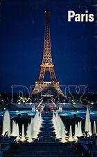 REPRO DECO AFFICHE PARIS CHAMPS DE MARS JET D EAU SUR PAPIER 190 OU 310 G