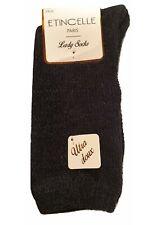 Etincelle 2 paires de chaussettes d'hiver chaude ultra doux noir