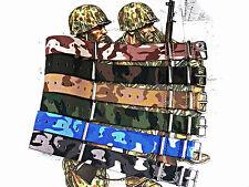 NATO G10 ® CAMO watch band nylon Military Army strap RAF stitch bonded IW SUISSE