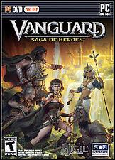 Vanguard Saga of Heroes PC DVD Online Game, Complete, Great game
