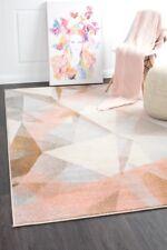 DEENA 425 Blush Pink Large Modern Rug Floor Mat Carpet FREE DELIVERY*