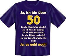 T-Shirt Fun-Shirt Alter Ja , ich bin über 50 S - XXXL