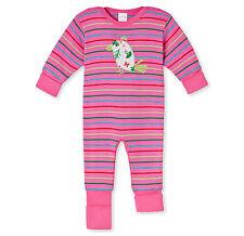 Schiesser Traje De Bebé Pelele 100% CO TALLA 68 74 80 86 92 Pijama NUEVO