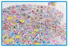 2 Sheet Cartoon Party Puff Sticker Birthday Gift - Lolly Bag - School Award