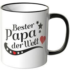 """WANDKINGS Tasse, Spruch: """"Bester Papa der Welt"""" versch. Farben Vatertag"""