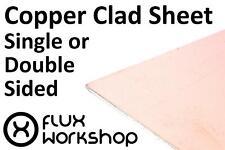 Copper Clad Sheet 150x100mm PCB Etching Single Double 15 10cm Flux Workshop