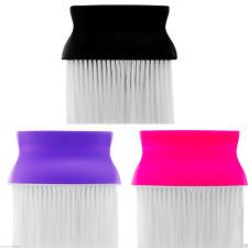 DMI Salon Barbero Estilo Cuello Cepillo Negro Púrpura Fucsia Para Uso Peluquería