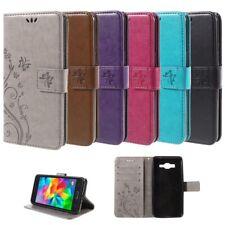 Flip Cover Schutz-Hülle zu Samsung Galaxy Grand Prime Handy-Tasche/Case BOOK S16