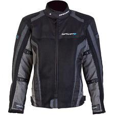 SPADA CORSA GP AIR WATERPROOF MOTORCYCLE JACKET SPORTS SUMMER MESH BLACK GREY