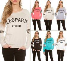 "Trendy Koucla Strick Pulli Pullover Sweater ""Leopard"""