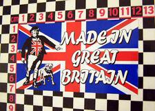 Great Britain Glass Sticker MGB MGA MGC Midget Magnette